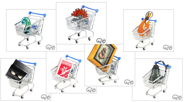 Shopping carts with NZ made gifts