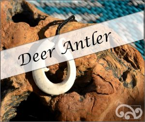 NZ deer antler carvings