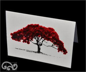 Artearoa pohutukawa pop-art cards