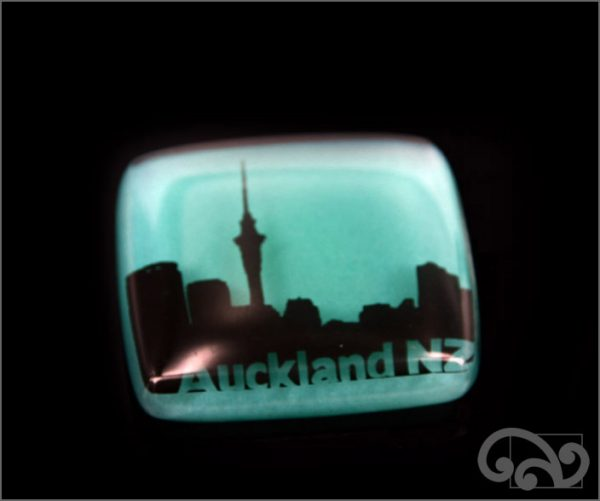 Auckland NZ glass note weights
