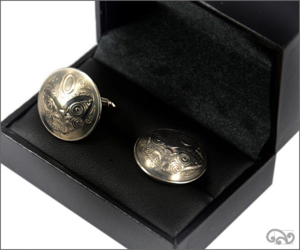 Coin cufflinks: Ten cent