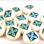 Ceramic tapa pebbles