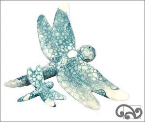 Ceramic dragonflies