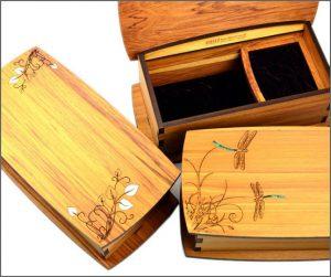 Rimu jewellery boxes