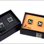 Paua cufflinks