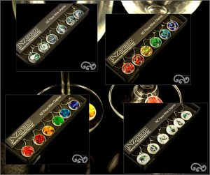 all paua wine charms
