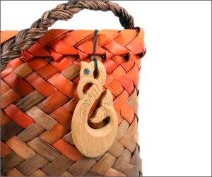 NZ wood carvings (pendants)