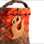 Manaia fishhook wood carvings