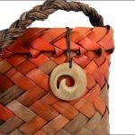 Small koru wood carving