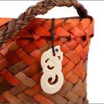 Manaia bone carving pendant