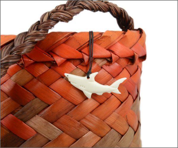 Shark bone carvings