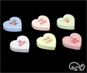 Ceramic sweethearts