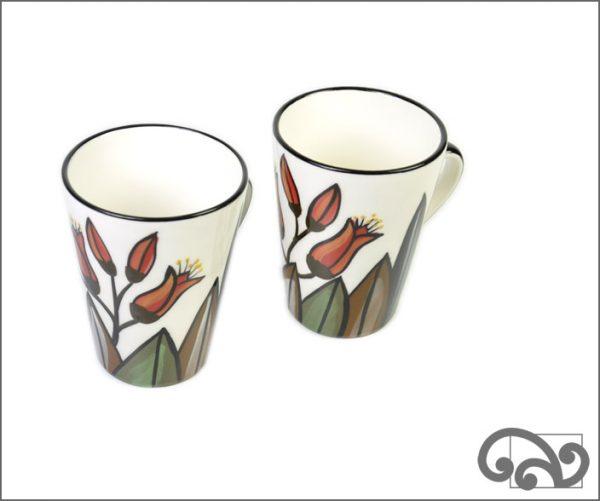 Ceramic Flax mugs