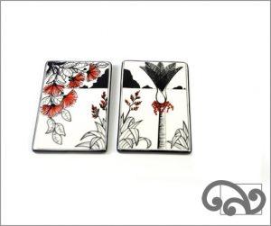 Ceramic native tiles