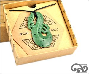Authentic greenstone manaia pendant