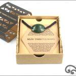 Authentic greenstone bracelet for baby