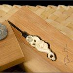 Manaia bone carving Taranaki style