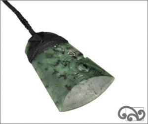 Large greenstone adze manaia