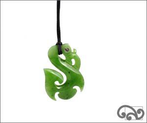 Manaia greenstone pendant