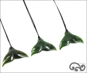 whale tail pendants