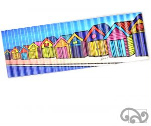 Corrugated iron art print