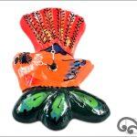 Ceramic fantal clock