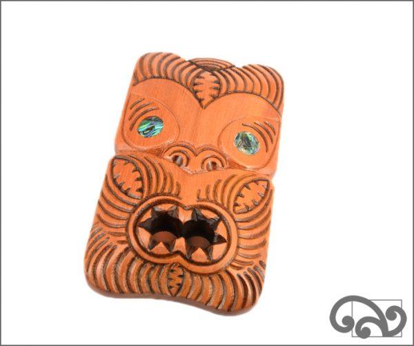 Maori koruru mask