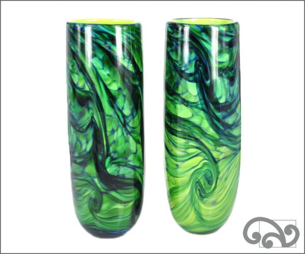 NZ glass vase