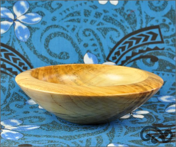 Kauri bowl with angled edge