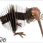 Corrugated iron sawblade kiwi