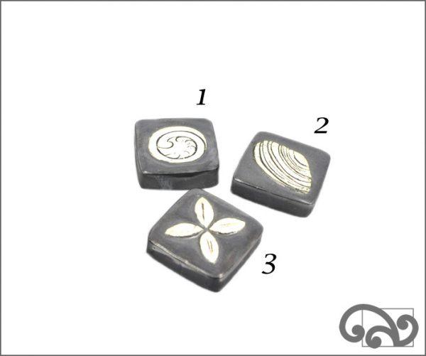Grey ceramic touchstones