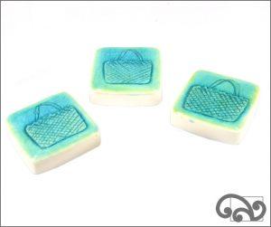 Kete ceramic touchstones