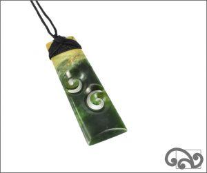 Greenstone toki double koru