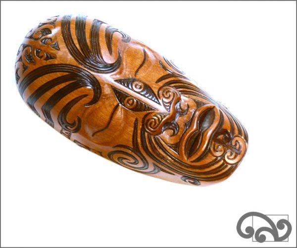 Maori waka mask