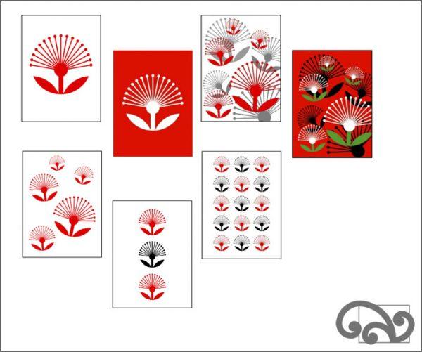 Pohutukawa cards