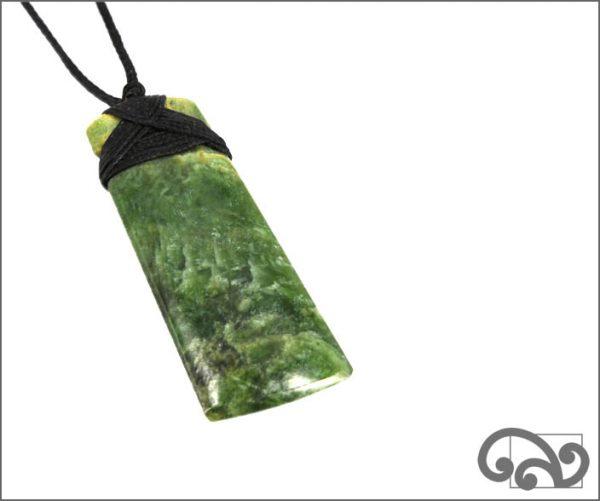 Greenstone adze pendant (back)