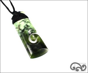 Greenstone adze single koru