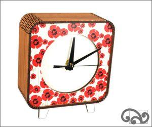 Poppy clock